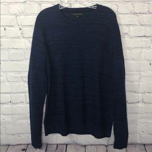 Banana republic blue crewneck sweater